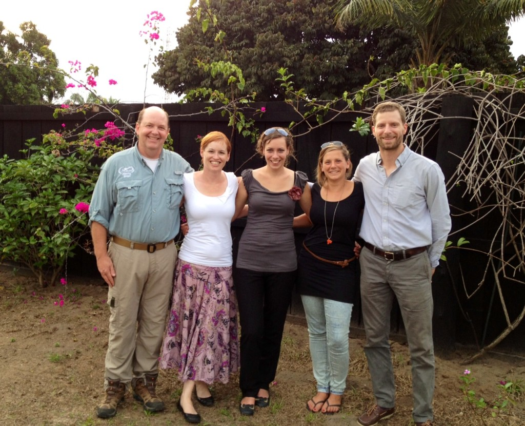 Screening Assessment Team in Ollombo, Congo