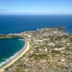 Fort Dauphin from the air